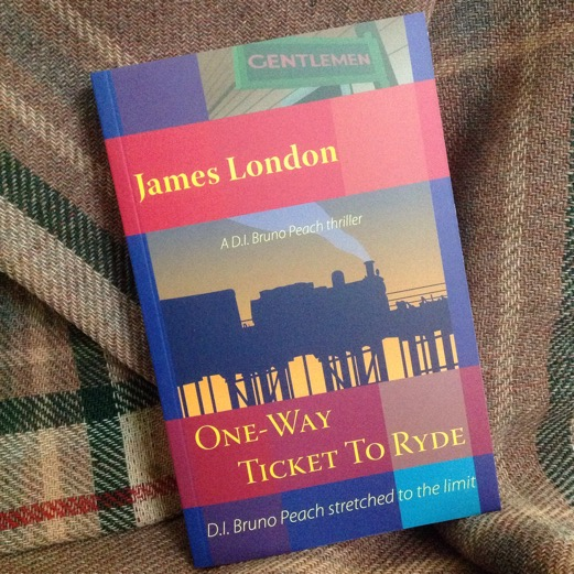 photo of book OneWay Ticket To Ryde by James London